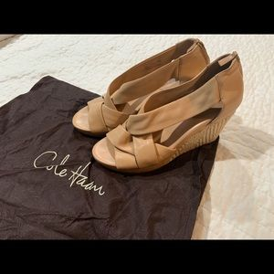 Cole Haan Nike leather Wedges
